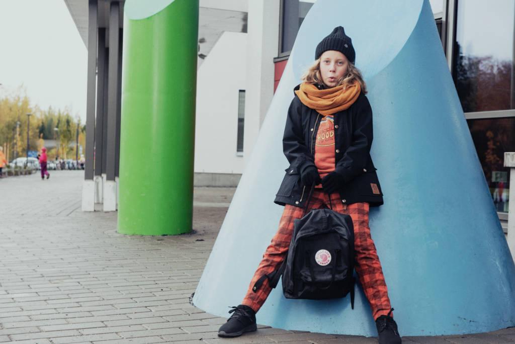 boy in school finland