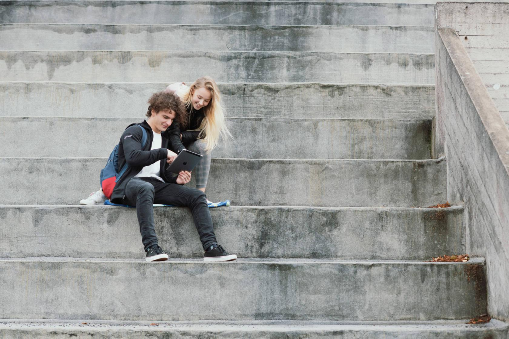 girl and boy in tampere